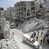 Bombardeos aéreos rusos en siria provocan 10 muertos