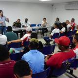 Barristas del Junior mantienen compromiso de sana convivencia
