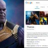 Google se une a la fiebre de Los Vengadores con el chasquido de Thanos