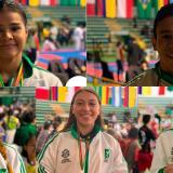 Karatecas locales brillaron en Bolivia
