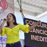 Nina Murgas Zuleta fue una de las participantes más ovacionadas del evento.