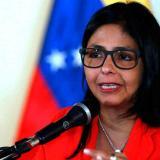 """Vicepresidenta de Venezuela dice que derrotarán el """"golpe de Estado"""""""