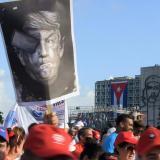 En video | Cuba marchó en apoyo a Venezuela y contra política de Trump