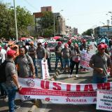 En video | Trabajadores de Barranquilla se toman las calles en su día