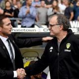 Frank Lampard y Marcelo Bielsa.