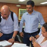 El acta de inicio se firmó en la Secretaría de Infraestructura de Sucre.