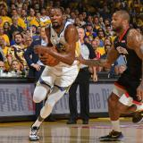 Durant se perderá el resto de las semifinales de la NBA