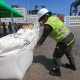 En video | Caen 2,2 toneladas en Puerto de Santa Marta que iba para Bélgica