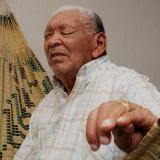 Leandro Díaz, un hombre que es poesía y acordeón