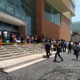 Trabajadores de locales comerciales de Buenavista II hacen inventario de mercancía