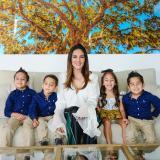 Ivanna Cárdenas, una mamá 4 x 4