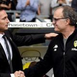 Lampard y Bielsa.