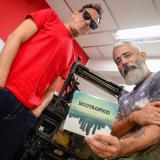 Álvaro Barboza y Omar Sánchez, fundadores de Sicotropico, en su visita a EL HERALDO.