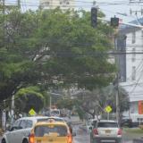 Semáforos ubicados en algunos puntos del barrio San Vicente dejaron de funcionar.