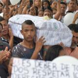 En video | Indignación y dolor en sepelio de la pequeña María José
