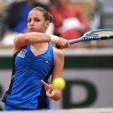 Karolina Pliskova cae en Roland Garros
