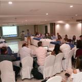 Aspecto de la reunión del sector turismo en el hotel Barranquilla Plaza.