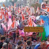 En video | Masivas protestas en Venecia para que prohíban arribo de cruceros