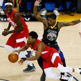 Los Raptors, por la hazaña ante Warriors