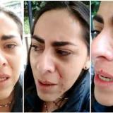 Maryory Carvajal, la periodista agredida.