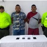 Rubén Darío Daguer Padilla y Rubén Darío Daguer Hernández, capturados.