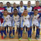 El equipo de Barranquilleros FS en Santa Marta.