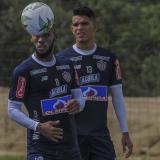 Hinestroza y Camilo Díaz en la primera práctica.