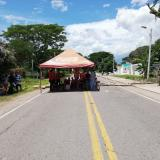 De manera indefinida permanecerá bloqueada la vía entre La Guajira y el Cesar