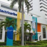 Fachada sede norte de Electricaribe en Barranquilla.