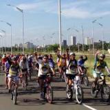 Más de 800 ciclistas recorren tres municipios del Atlántico