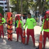 12 salvavidas para El Rodadero y la bahía de Santa Marta