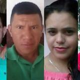 Cuatro de las nueve víctimas arrolladas por la volqueta.