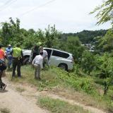 Gobernador de Bolívar y Mininterior, ilesos tras accidente en el Carmen