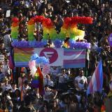 Multitudinaria Marcha del Orgullo Gay en Madrid