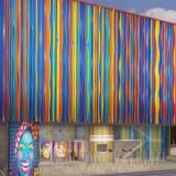 Fachada de lo que será el Museo del Carnaval.