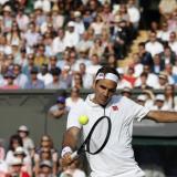 Federer derrota a Nishikori y pasa a semifinales de Wimbledon