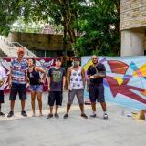 Arte urbano en la Plaza de la Paz