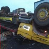 Volcamiento de un camión en Tasajera deja un muerto