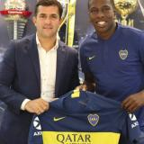 Jan Hurtado fue anunciado como refuerzo de Boca Juniors