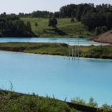 Lago artificial contaminado, el atractivo turístico de los siberianos.