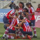 Junior 2, Real San Andrés 0: las Tiburonas y Yoreli se lucen en su debut