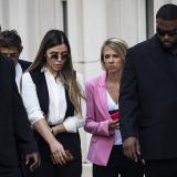Emma Coronal, esposa del Chapo, durante el juicio celebrado en Nueva York.