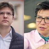 Campaña en Bogotá: CD con Miguel Uribe e izquierda con Claudia López
