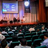 Panel realizado en el foro Ciudades Verdes, Inteligentes y Creativas realizado ayer en Barranquilla.