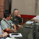 El gobernador Édgar Martínez presidió la reunión.