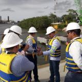 Avanza reparación de rotura en tubería subacuática de gas en Tierrabomba
