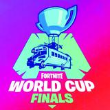 Logo de las finales mundiales de Fortnite, competencia que irá hasta mañana.