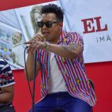 Donny Caballero durante la presentación en el EL HERALDO.