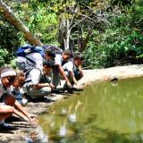 Normal La Hacienda celebra 20 años como reserva educativa y ecológica