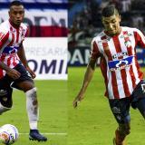 Willer Emilio Ditta, defensa central de 22 años y Gabriel Rafael Fuentes, lateral izquierdo de 22 años.